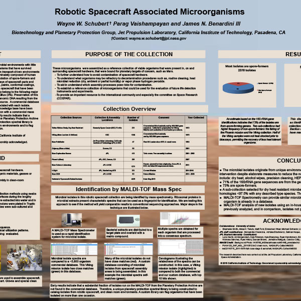 Robotic Spacecraft Associated Microorganisms